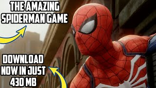 [430mb]How to Download the amazing spiderman game highly compressed version in your devices😇👍