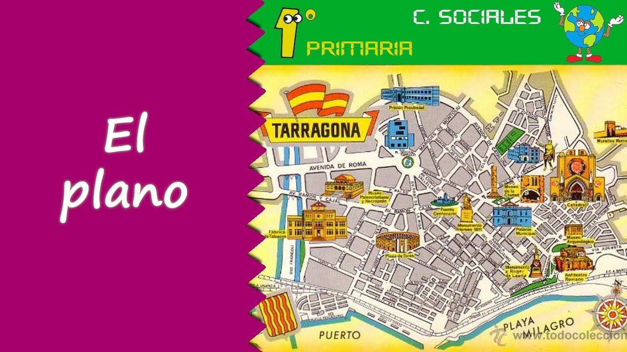 Localización De Una Casa En El Mapa: Ciencias Sociales. 1º Primaria. Tema 4: El Plano