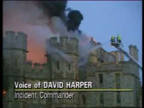The Great Fire of Windsor Castle - YouTube