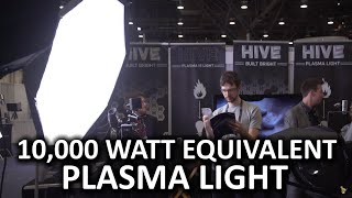10,000 watt-equivalent light you can use in your home!? - Hive Lighting Booth