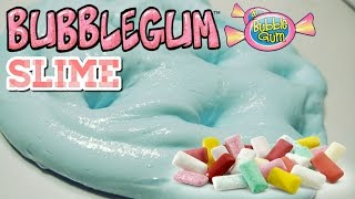 BUBBLE GUM SLIME TUTORIAL (cara membuat bubble gum slime)