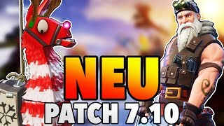 WinterLama Opening Heroes Weapons Patch 7.10 Fortnite Save the World
