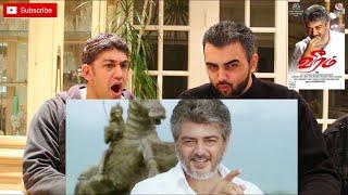 Veeram Trailer Reaction | Thala Ajith Kumar, Tamannaah|