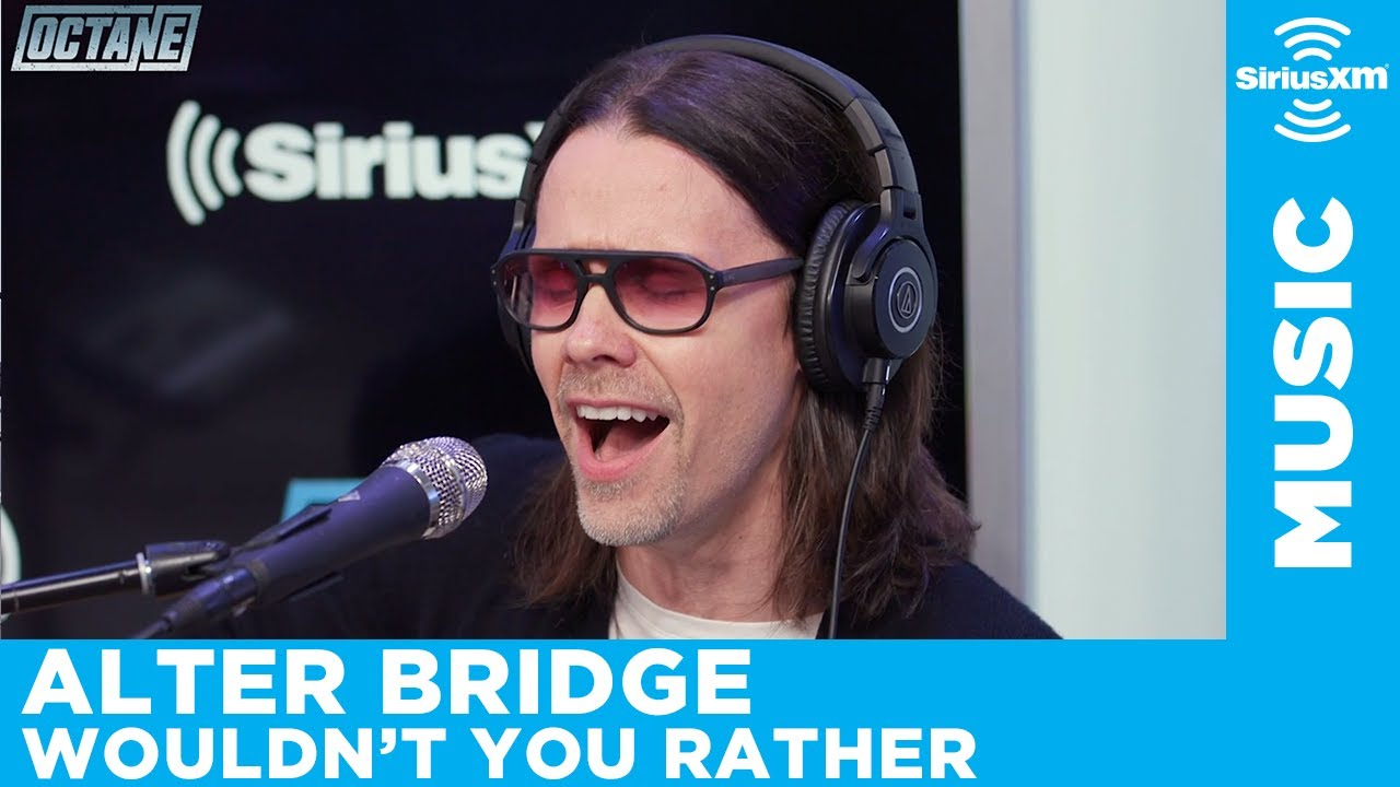 Alter Bridge - Wouldn't You Rather (Acoustic) [LIVE @ SiriusXM]
