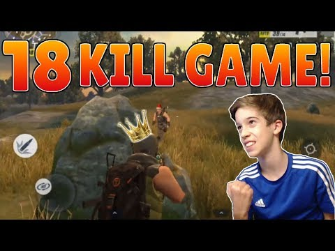 Rules of Survival - 18 KILL SOLO WIN! My Highest Kill Game! CLUTCH ENDING!