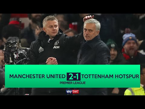Manchester United 2-1 Tottenham Hotspur | Jose Mourinho Loses On His Return To Old Trafford!