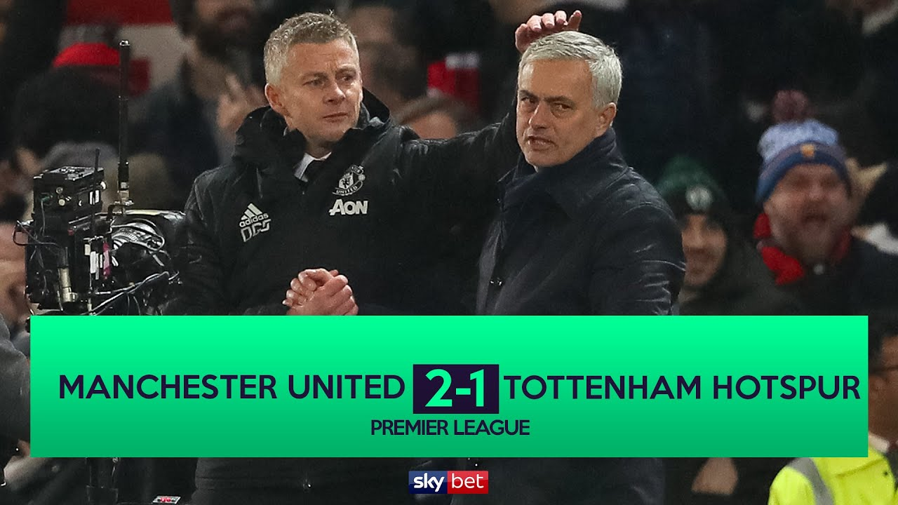 Manchester United vs. Tottenham score: Live updates as Jose ...