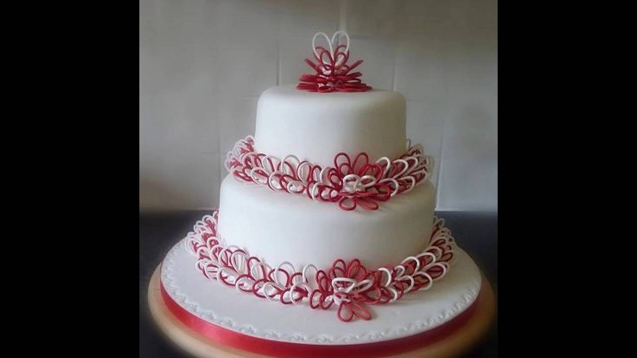 Wedding anniversary cake ideas youtube