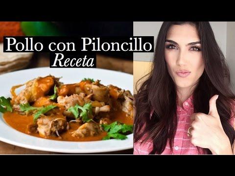"""Pollo en salsa de Tomatillo y Piloncillo """"receta facil y rapida"""" - karely"""