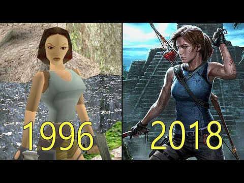 Evolution Of Tomb Raider Games 1996 2018 Youtube