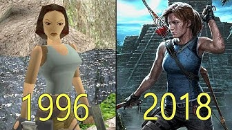 Evolution of Tomb Raider Games 1996-2018