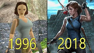 Evolution of tomb raider games from 1996 to 2018list 📑tomb (1996)tomb ii (1997) iii (1998)tomb raider: the last revelation (1999)t...