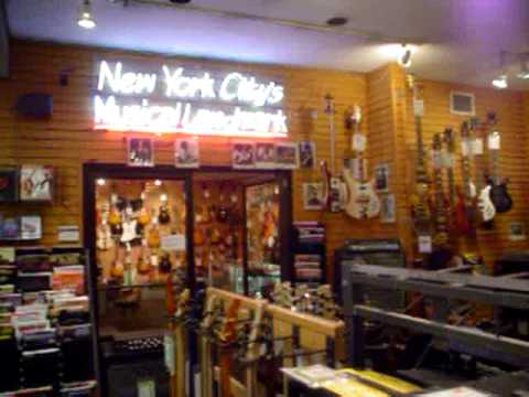 final visit to manny 39 s music on 48th street new york city youtube. Black Bedroom Furniture Sets. Home Design Ideas