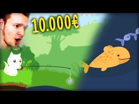 KATZE ANGELT GROßE FISCH UND VERKAUFT SIE... für viel Geld !! | Cat Goes Fishing