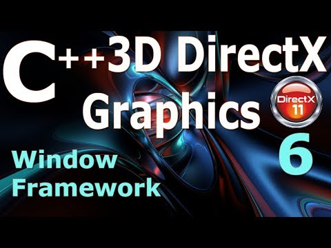 C++ 3D DirectX Tutorial [Window Framework] 6