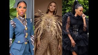 Wearable Art Gala 2019 -Beyoncé, Kelly Rowland and Michelle Williams Fashion!