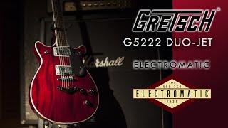 Gretsch G5222 Electromatic Duo-Jet Double Cutaway Walnut Finish Review