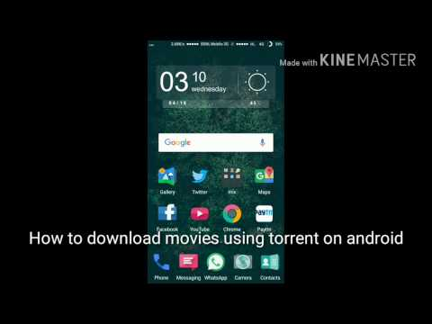 Download HD movies on Android using...