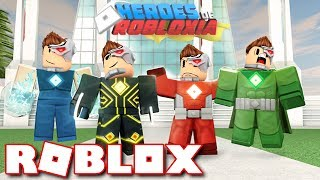 THE HEROES OF ROBLOXIA!! (Mission 1 & 2 - Newest Roblox Update)
