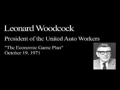 Landon Lecture | Leonard Woodcock - audio only