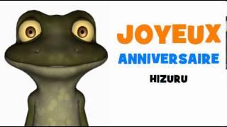 JOYEUX ANNIVERSAIRE HIZURU!