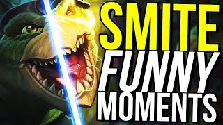 DAMAGE NENE IS BETTER THAN KUZENBO! (Smite Funny Moments)