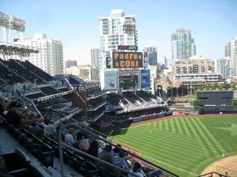 San Diego Padres Biilboard captures score @ ballgame on 9/16/2012