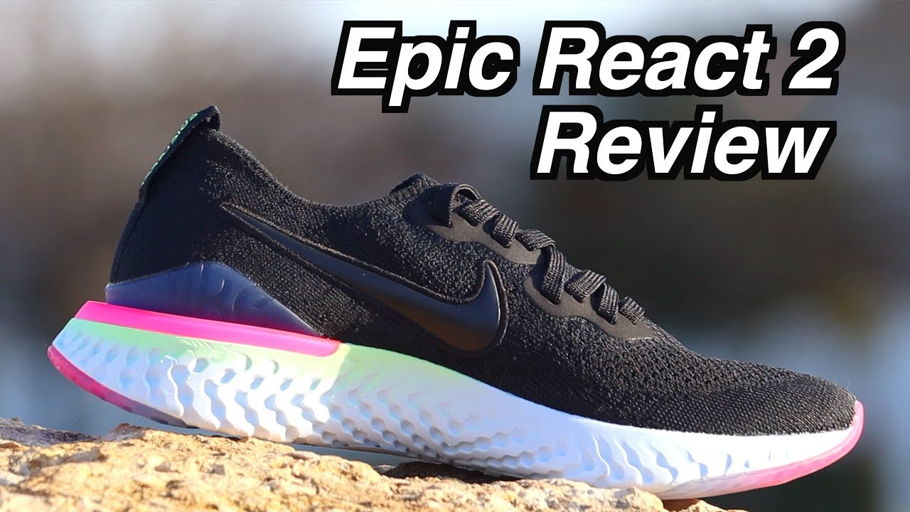 ba6d38dd87c8 Nike Epic React Flyknit 2 REVIEW   Epic React 1 Comparsion  Running ...