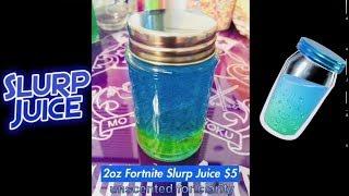 Real Life Fortnite Slurp Juice Slime