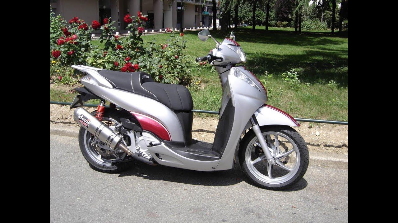 Honda Sh 300 Racing Youtube