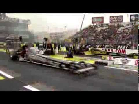 NHRA Top Fuel Dragster Driver Richie Crampton uses Lucas Oil