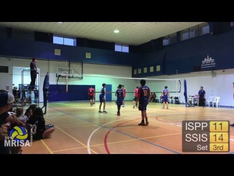 MRISA Junior Volleyball 2017 ISHCMC vs. ISE 11:30am (Girls)