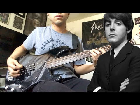 The Beatles - And Your Bird Can Sing (Bass Cover)