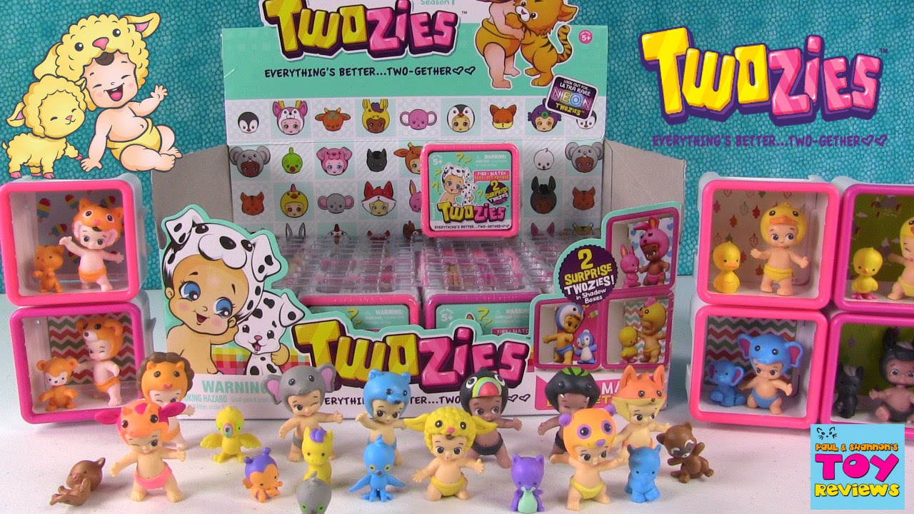 Twozies Baby Amp Pet Blind Bag Opening 2 Unboxing Toy
