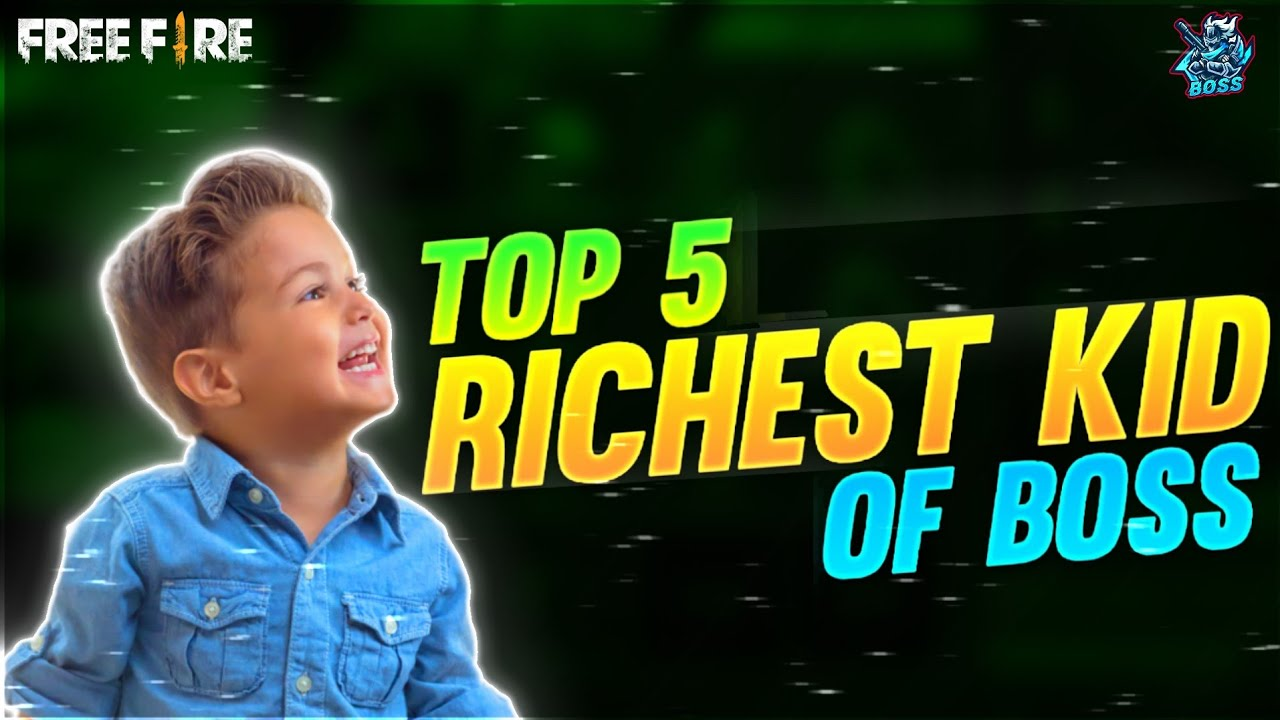 Top 5 RICHEST KID OF BOSS 🇮🇳♥️ paisa hi paisa🤭