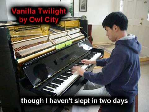 Vanilla Twilight - Owl City (Piano)