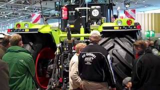 agritechnica claas xerion 5000 tractor