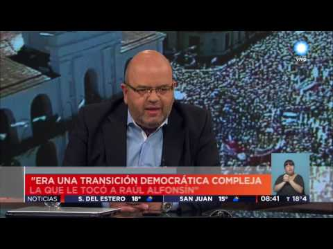 TV Pública Noticias - A 33 años de la asunción de Raúl Alfonsín a la presidencia