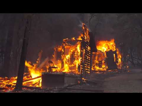 Jones Fire Evacuations in Nevada County California