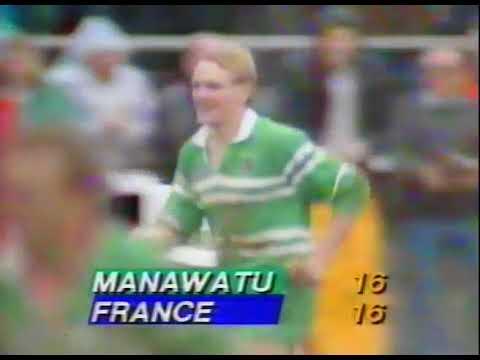 Joe Schmidt try vs France Rugby 1989