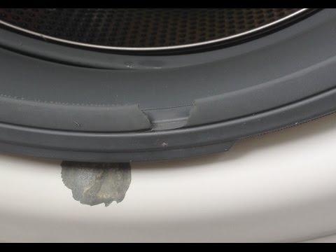How To Replace A Washing Machine Door Seal On A Bosch W