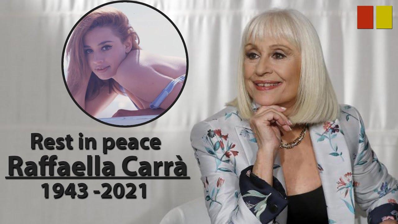 Raffaella Carra, Italian singer and TV presenter, dies at 78
