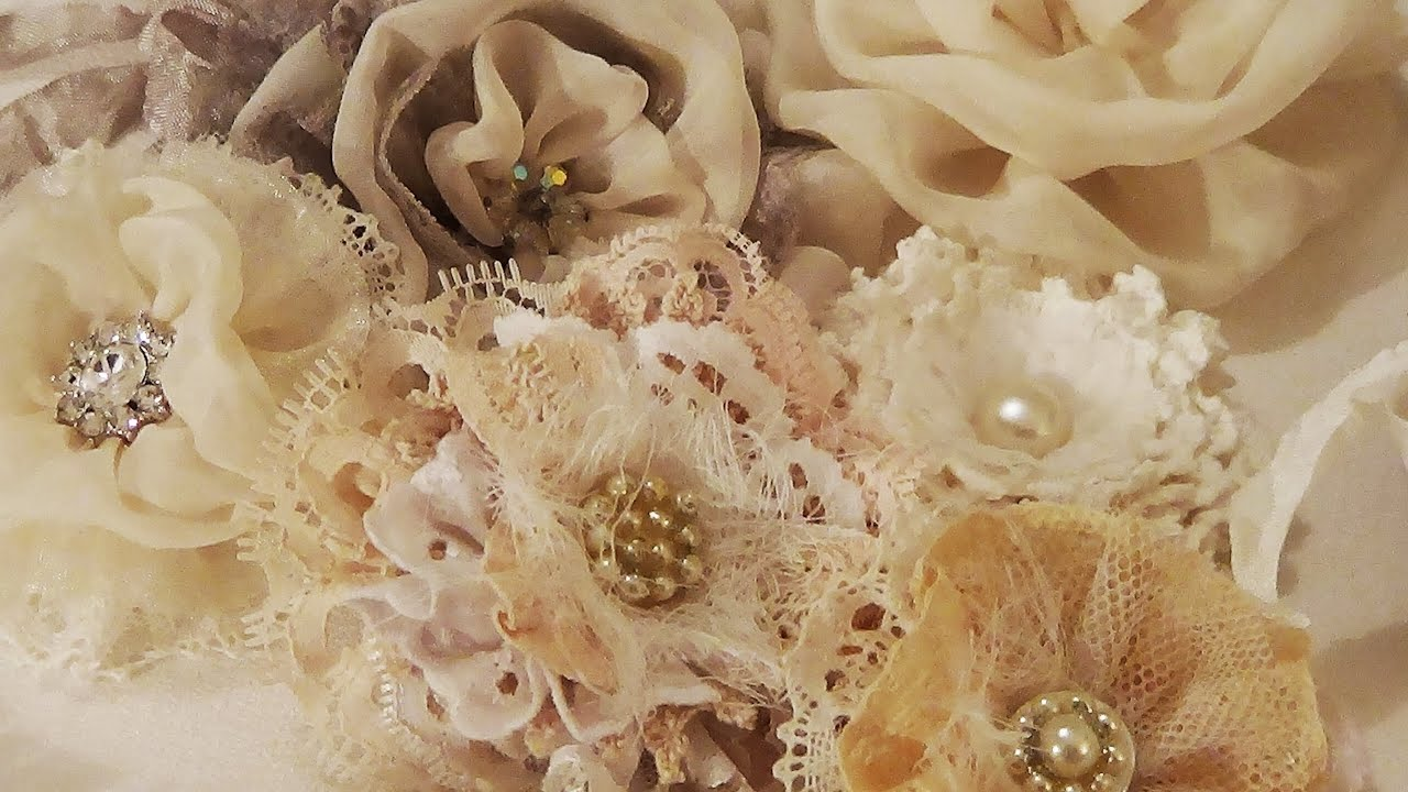 Shabby Chic Flowers - YouTube