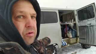Дорога на горьковское водохранилище Едем на рыбалку на Уаз буханке автодом