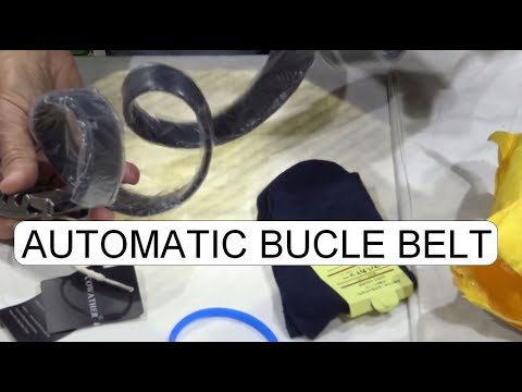 UNBOXING AUTOMATIC BUCLE BELT - 동영상