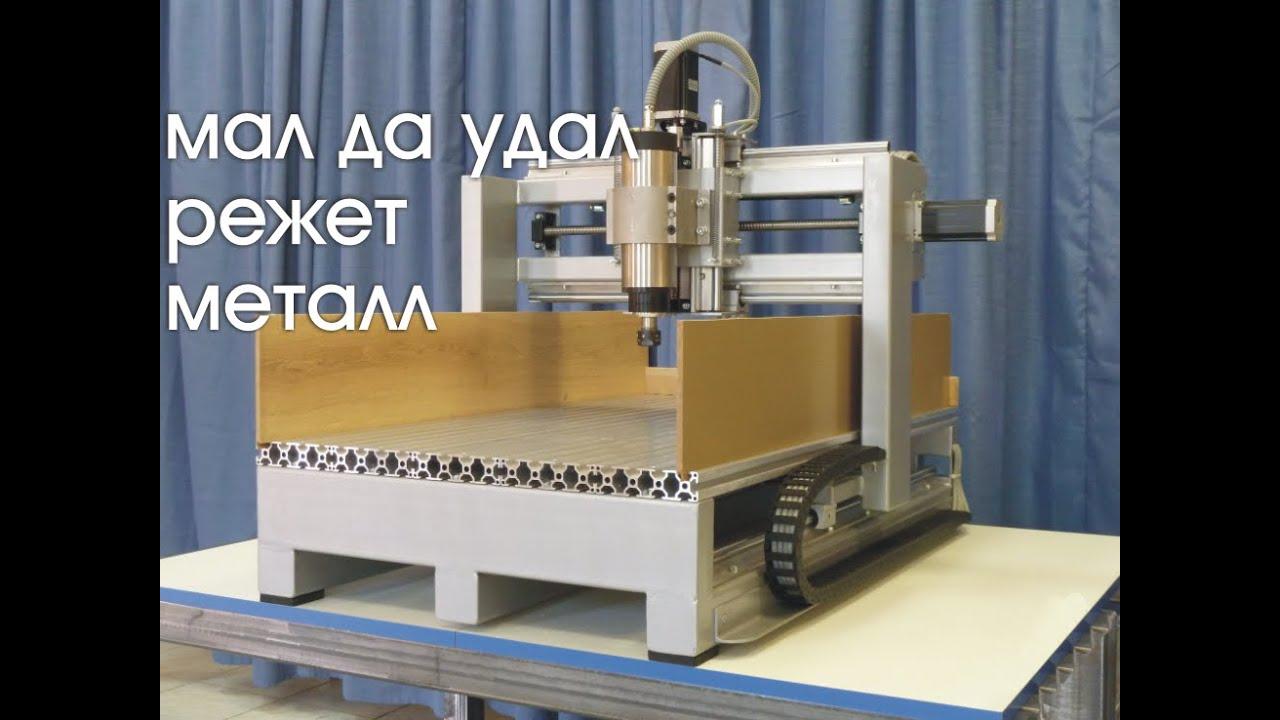 Настольный станок с ЧПУ 400*600 мм. Фрезерование металла. cnc.constructor@gmail.com
