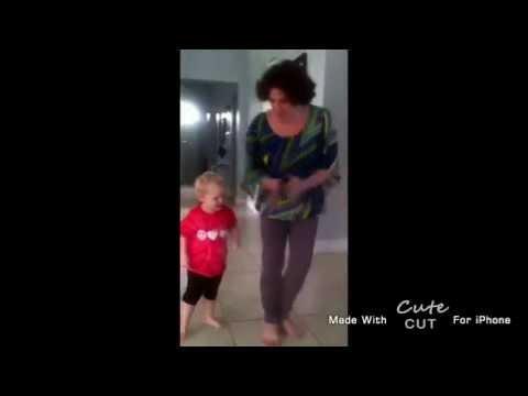 Milana dancing with Mami 2013