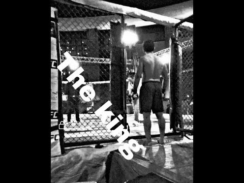 Training workout and shadow Fighting mma and kickboxing. بعض التأهيلات للفنون القتالية