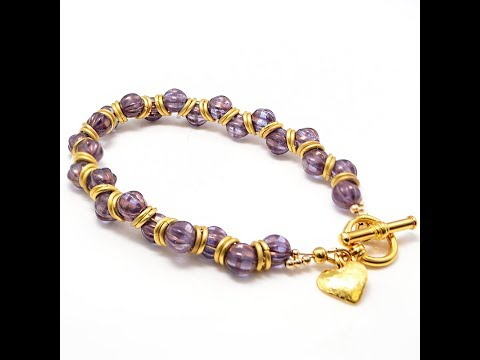 Free Tip Friday. Our take on the Goddess Bracelet, a perfect weekend project!