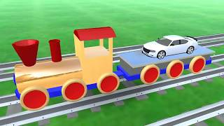Colors for Children to Learn with Toy Trains   Colors Videos Collection New